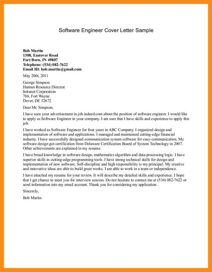 best cover letter best engineering cover letters